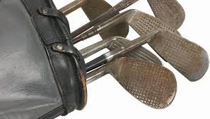antique golf clubs remain one of the most collectible of antiques they evoke a charm and ambiance of the victorian era that is unmistakably romantic