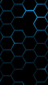 cool blue hexagon wallpapers for iphone 5
