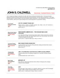Resume Template Musicians Resume Template Free Career Resume Template