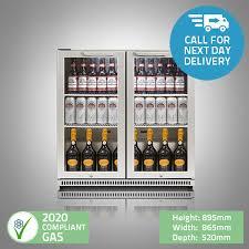 bar fridge double door premium