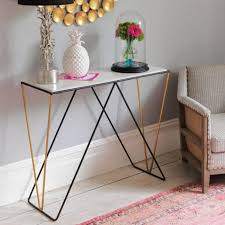 skinny console table. Detroit Marble Console Table Skinny I