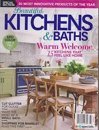 Beautiful Kitchens Baths Magazine Spring 2017 Various Amazon