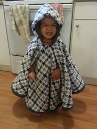 Fleece Poncho Pattern With Hood Classy NoSew Two Layer Fleece Poncho A Great Alternative To Coats Because