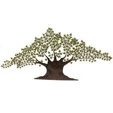 grotesque tree of life metal wall art decor sculpture with green leaf and brown rod ideas on green and brown metal wall art with grotesque tree of life metal wall art decor sculpture with green