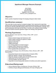 Resume For Managerial Position Writing A Great Assistant Property Manager Resume
