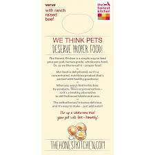 Verve Organic Grain  Beef Dog Food - Honest kitchen dog food