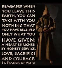 St Francis Quotes Awesome St Francis Of Assisi The Writer's Quotes