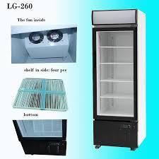 glass door display refrigerator showcase 1