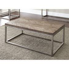 steve silver lorenza coffee table in distressed wood