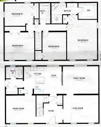 amazing of 2 story rectangular house plans breathtaking rectangular story house plans gallery ideas 3 bedroom 2