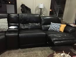 craigslist leather sofa striking picture concept furniture nice black design ideas with