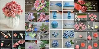 Paper Flower Bouquet Tutorial Step By Step Diy Paper Flowers Wedding Bouquets Tutorials To