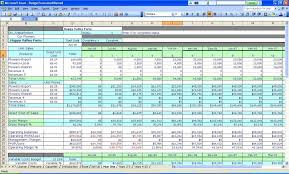 Simple Household Budget Spreadsheet Template Excel Free