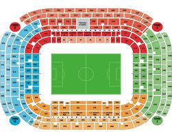 San Siro Map San Siro San Siro Stadium Seating Charts