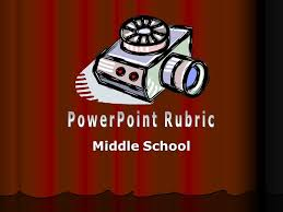Powerpoint Rubric Middle School Ppt Video Online Download