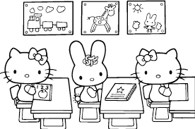 Best Hello Kitty Colouring Pages Ideas Coloring Invitations Paper