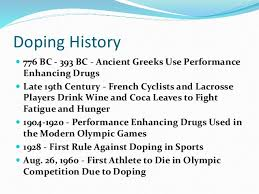 doping in sports doping