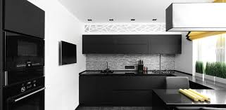 the kitchen features a fine and smooth countertops for sink and center island along with white walls and pendant lighting