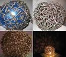 Светильники для дачи из подручных материалов