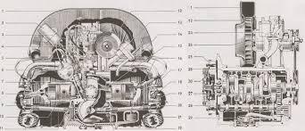 volkswagen beetle wiring diagram images mustang dash 1968 1979 vw 1600 transporter engine static parts 208