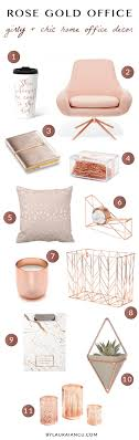 feminine office supplies. Girly And Chic Home Office Decor Ideas For Work From Entrepreneurs, Moms, Bloggers Feminine Supplies