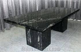 black marble dining table natural from china top round