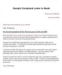 letters of complaints samples an example complaint letter  letters of complaints samples sample complaint letter to bank complaint letter sample poor service pdf letters of complaints samples sample bad service