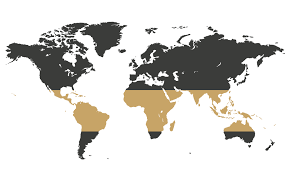 The world's coffee belt spans the globe along the equator, with cultivation in north, central, and south america; Mugging Whales Premium Coffee Co
