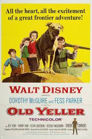 scvhistory lw2332 film arts one sheet poster old yeller 1957