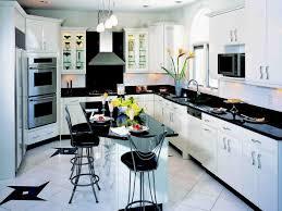 image of black white kitchen decor themes