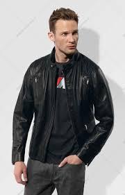 bmw m mens leather jacket