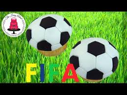 Soccer Ball Icing Decorations FIFA World Cup Easy Soccer Ball Cupcake How To With The Icing 49