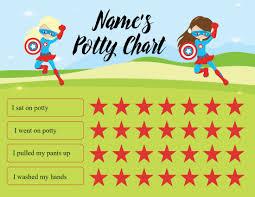 Toddler Potty Chart Ideas Potty Chart Diy Free Online Potty Chart Maker No