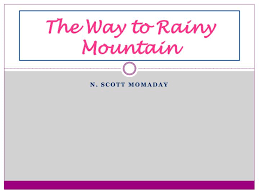 the way to rainy mountain essay the rainbow mountains of are earth s paint palette slideshare chris oxley wvpb