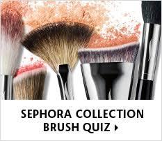 sephora collection brush quiz