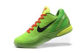 nike basketball shoes 2017. nike zoom kobe 6 grinch christmas green mamba basketball shoes-4 shoes 2017