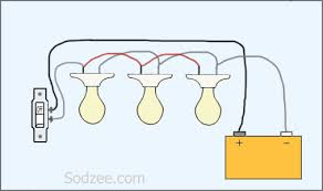 how to wire lights in parallel with switch diagram gooddy org 3 way light switch wiring at Basic Light Wiring Diagrams
