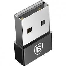 Адаптер <b>Baseus Exquisite USB</b> Male to Type-C черный купить за ...