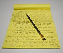 Image result for yellow legal pad