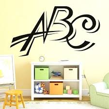 wall decals letter wall decal letters vinyl wall stickers letters wall decal nursery decorative waterproof art