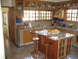 L Shaped Kitchen With Island Small Kitchen Island With Stools