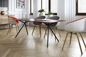 Elegantes Design Massivholz Esstisch Massivholz Design
