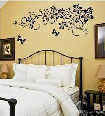 black erflies wall stickers flowers art home decor wall decals for living room for bedroom decoration wall decals design wall decals designs from