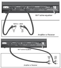 bose 901 speakers series wiring diagram bose wiring diagrams
