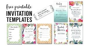 Invitation Printable Template Naomijorge Co