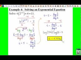 pc 3 4 notes example 4 solving an exponential equation