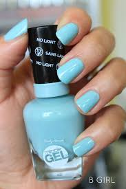 Sally Hansen Gel Polish Light Sally Hansen Miracle Gel Nail Polish B Girl New Favorite