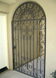 wrought iron exterior doors. Wrought Iron Front Door Gates Exterior Entry Doors S