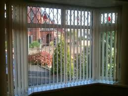 Bend It Curved Headrail Vertical Blinds For Bay Bow Windows Bay Window Vertical Blinds