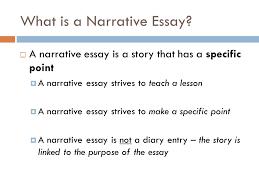 the original composition intro the original composition  part  what is a narrative essay